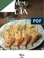 Menú del día - Pedro Subijana