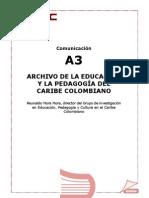 La Educacion y La Pedagogia Del Caribe Colombiano Reynaldo Mora