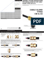 CMP CW CX Installation Fitting Instructions FI416 Issue 3 0911