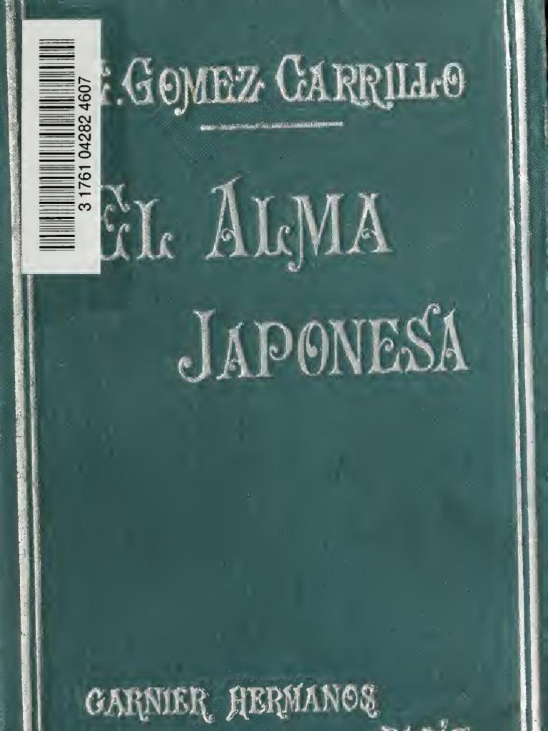 0c2cf3942a Gómez Carrillo - El alma japonesa