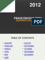 Francis Kong - Inspiring Excellence 2012
