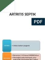 ARTRITIS SEPTIK referat kepaniteraan ilmu bedah umum