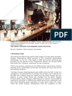 The Basic Oxygen Steelmaking