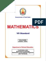 Class 7 Maths EnglishMedium