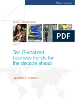 Ten IT-enabled business trends for the decade ahead