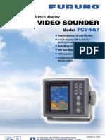 Color Video Sounder Model fcv667