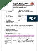 Unidad Didactica 2013-Segundo