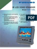 Color LCD Video Sounder Model FCV-1100L