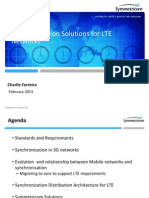 Sync Solutions for LTE_2