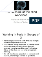The Machine of the Mind WorkshopSession 11FINAL