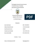Práctica Péndulo Balístico (II)