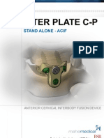 Spinal Implants - Interplate C-P