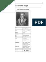 Georg Wilhelm Friedrich Hegel