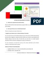 Vietnam Visa Requirement for Emirati