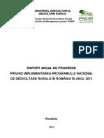Raport Anual PNDR-2011