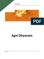 Agni Dhyana With Chakras