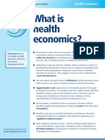 What is Health Economic