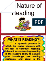 The Nature of Reading2003