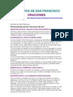 Francisco de Asís Oraciones.rtf