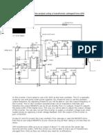 18152217 12V 600VA Inverter Project Using a Transformer Salvaged From UPS