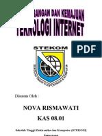 Perkembangan Dan Kemajuan Internet