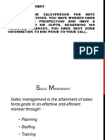 Sales Management