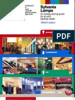 Sylvania Guide to Energy Saving Lamps Brochure 1990-1991