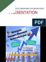 Malaysia Dengan Ekonomi Antarabangsa