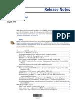 ProactiveNet Release Notes