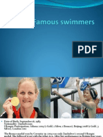 Famous Swimmers
