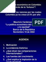Crecimiento Economico en Colombia