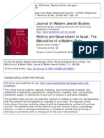 Mahler-Politics and Government in Israel