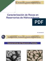 3. Caracterización de las rocas