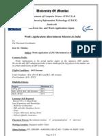 Work Application
