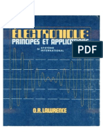 Electronique Principes Et Applications