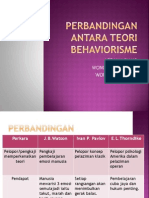4. Perbandingan Antara Teori Behaviorisme