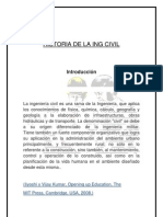 Historia de La Ing Civil