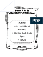 Form5 Literature Booklet With Remarks