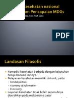 Jaminan Kesehatan Nasional Dalam Pencapaian MDGs 2015