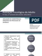 Avaliacao Competencias Parentais Em Processos de Divorcio