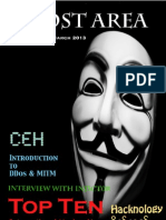 Myanmar First Hacking Magazine Written by Ghost Area