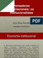 Apresentação de Economia IIxsaxascascnacncncansncacnabcnabcbnabcnbasncbasnbcnsbcnsbncbsncbnscnbasncbnsbcna