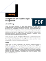 Swot Analysis of Aarong Bangladesh