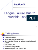 Dynamics Fatigue Failure Due to Variable Loading