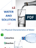 chapter 5 water and solution