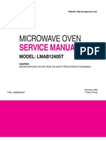 LMAB1240 Service Manual