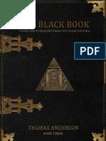 3. the Black Book - Thomas Anderson