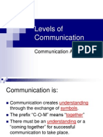 2008-09-03 - Five Levels of Communication.ppt