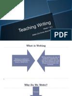 Teaching of Writing in ESL class