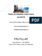 Manual de Tinas de Madera